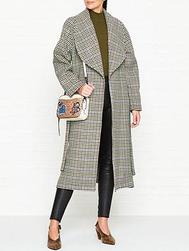gestuz-welle-check-print-coat-off-whitebrown-check