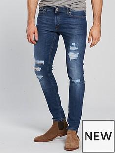 jack-jones-jack-amp-jones-intelligence-skinny-fit-rip-amp-repair-jeans