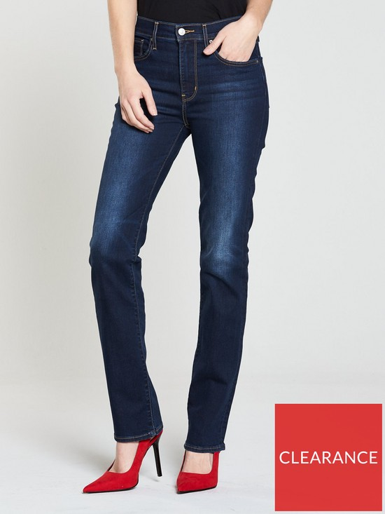d9e3ca75999ee Levi s 724 High Rise Straight Jean