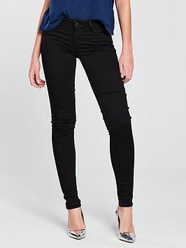 Levi'S 710 Innovation Super Skinny Jean &Ndash; Black