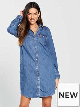 levis-ultimate-western-denim-dress