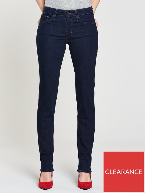 72228b90b Levi's 712 Mid Rise Slim Jean - Lone Wolf | very.co.uk