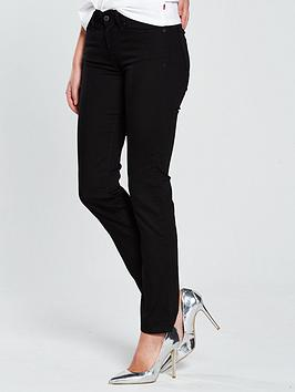 Levi'S 712 Mid Rise Slim Jean - Black