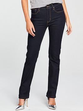 Levi'S 724 Straight Mid Rise Jean