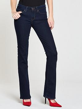 Levi'S 715 Mid Rise Bootcut Jean - Lone Wolf