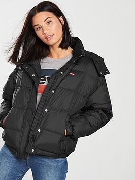 Levi'S Anya Padded Coat - Black