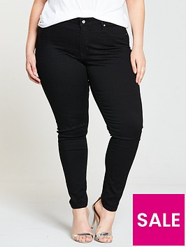 c96a941c42c86 Levi s Plus 310 Shaping Super Skinny Jean - Black   very.co.uk