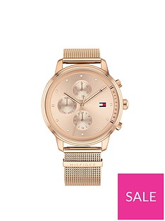 tommy-hilfiger-tommy-hilfiger-rose-gold-multi-dial-and-rose-gold-stainless-steel-mesh-ladies-watch