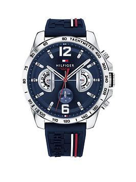 tommy-hilfiger-tommy-hilfiger-navy-and-white-detail-multi-dial-and-navy-silicone-strap-mens-watch
