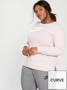 nike-sportswear-hbrnbsplong-sleeve-tee-plus-size