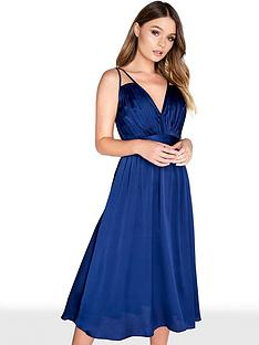 little-mistress-satin-midi-dress-navy