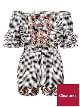 river-island-girls-black-gingham-embroidered-playsuit
