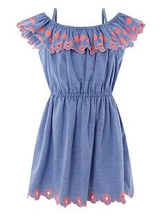 accessorize-girls-chambray-embroidered-bardot-dress