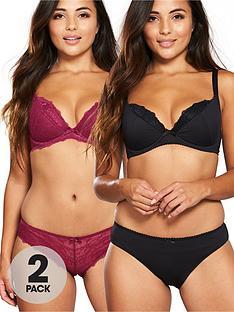 dorina-quinn-curves-2-pack-brief-redblack