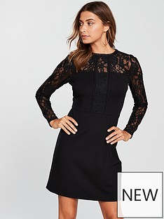 v-by-very-lace-sleeve-ponte-pencil-dress