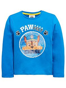 paw-patrol-boys-reversible-sequin-chase-marshall-long-sleeve-tshirt