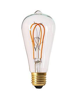 girard-sudron-5w-e27-teardrop-led-looped-filament-screw-cap-bulb