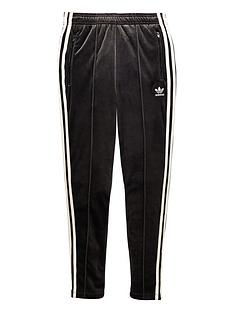 adidas-originals-girls-zebra-pants-black