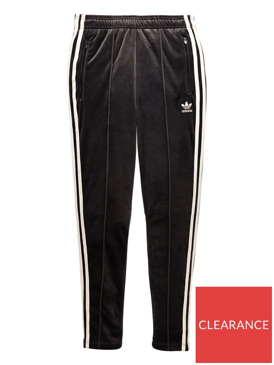 a1ca8d2c9f44 adidas Originals Girls Zebra Pants - Black