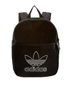 adidas-originals-girls-velvet-backpack-black