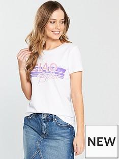 v-by-very-ciao-bella-slogan-tee
