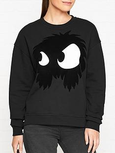 mcq-alexander-mcqueen-slouch-monster-sweatshirt-black