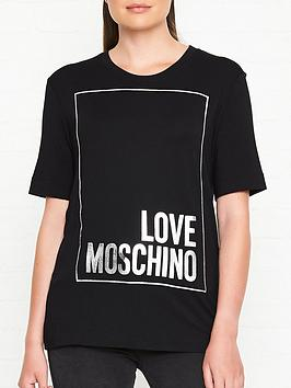 love-moschino-logo-t-shirt-black