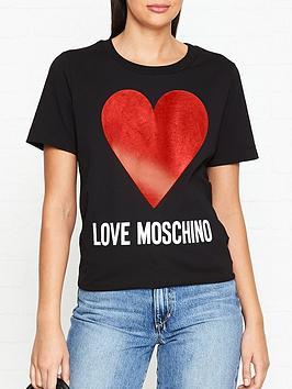 love-moschino-heart-logo-t-shirt-black