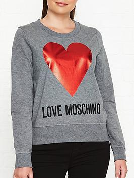 love-moschino-long-sleeve-jumper-grey