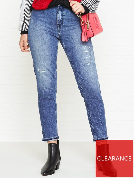 5bbf08d95 Tommy Hilfiger Icons Gramercy Slim Tapered Jeans - Blue | very.co.uk