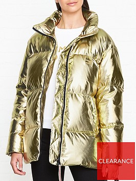 tommy-hilfiger-icon-high-gloss-padded-jacket-gold