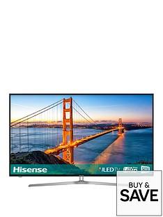 hisense-h55u7auk-55-inch-4k-ultra-hd-freeview-play-smart-tv