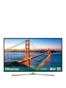 Hisense H65U7Auk, 65 Inch, 4K Ultra Hd, Freeview Play, Smart Tv