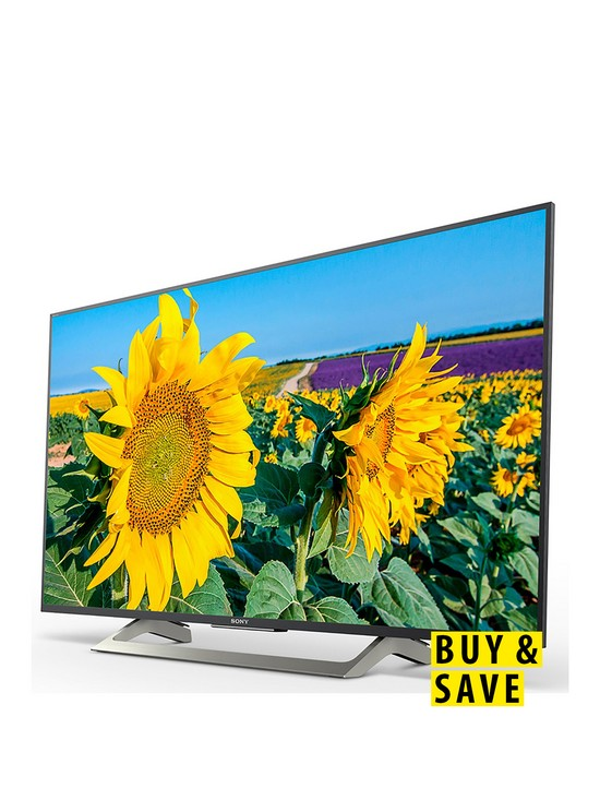 Bravia KD55XF8096, 55 inch, 4K HDR Ultra HD, Smart Android TV™ with  YouView, Freeview HD and Google Assistant Built-in - Black