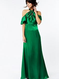 monsoon-bella-cold-shoulder-maxi-dress-green