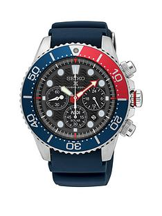 seiko-seiko-black-multi-dial-with-red-and-blue-detail-bezel-and-blue-silicone-strap-mens-watch