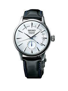seiko-presage-cocktail-time-silver-and-blue-case-and-black-leather-strap-mens-watch