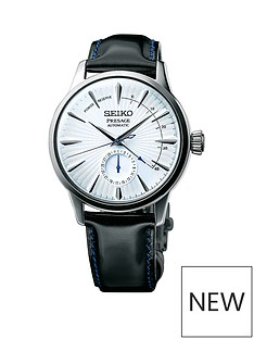 seiko-seiko-presage-cocktail-time-silver-and-blue-case-and-black-leather-strap-mens-watch