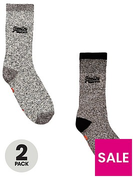superdry-superdry-dry-mountaineer-sock-double-pack