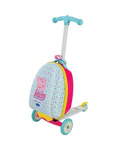 Peppa Pig Scootin Suitcase