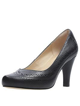 Clarks Clarks Wide Fit Dalia Ruby Court Shoe Black