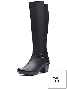 clarks-clarks-wide-fit-emslie-march-knee-high-boot-black