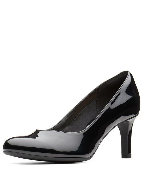 dfb6f5a276f Clarks Dancer Nolin Court Shoe - Black