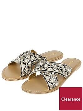 accessorize-cleopatra-cross-strap-flat-sandal