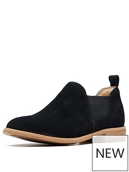 clarks-edenvale-page-slip-on-suede-shoe-black-suede