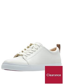 clarks-glove-echo-trainer-white