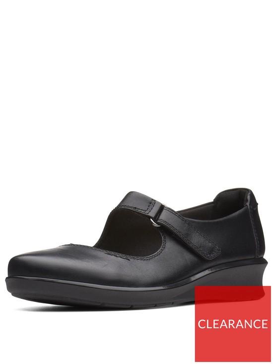 9232b0a16a5e Clarks Hope Henley Mary Jane Shoes - Black