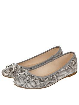 accessorize-coralie-basic-snake-ballerina-flats-grey