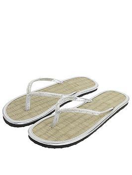 accessorize-chevron-beaded-sea-grass-flip-flop-silver