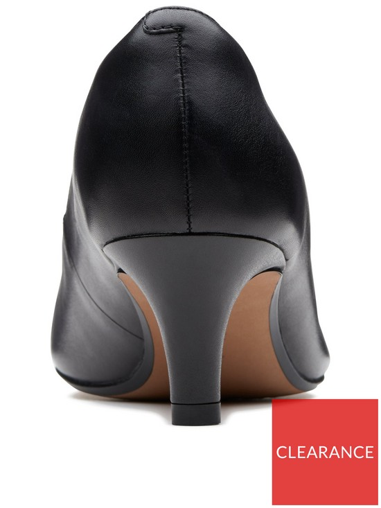 new product c3855 f5da1 Clarks Linvale Jerica Mid Heel Court Shoe - Black   very.co.uk